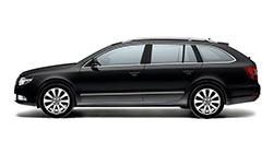 Škoda Superb and VW Passat